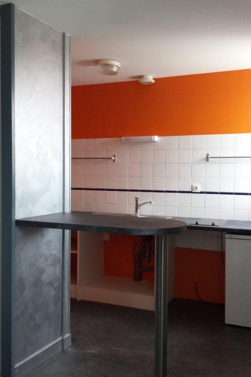 Réalisation peinture intérieure cuisine - PRSV à Fontenay le Comte